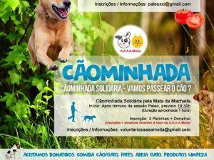 Foto Campanha Cãominhada- Mata da Machada(Barreiro)