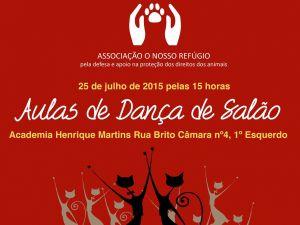 Foto Campanha Aula de Danças de Salão Solidária com a Associação O Nosso Refúgio