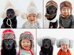 Sessão fotográfica com chapéus