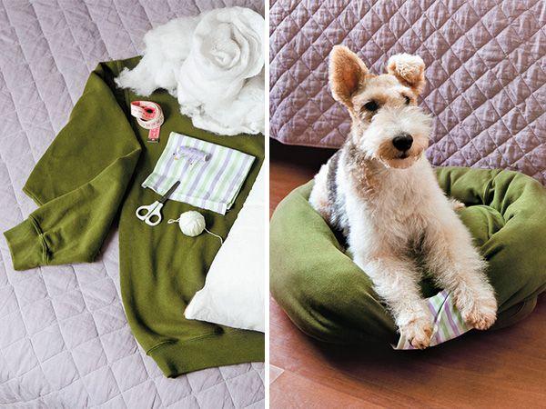 Foto  Mãos à obra: cama de camisola