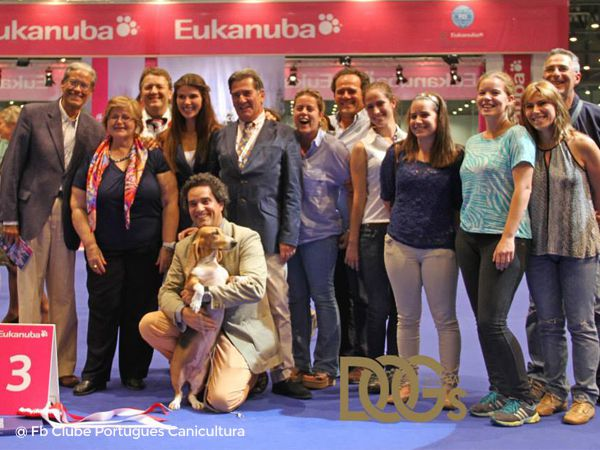 Foto Portugueses no European Dog Show